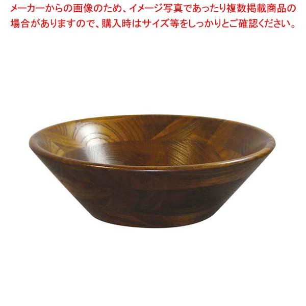 【まとめ買い10個セット品】 けやき サラダボール(オイルカラー)130002 φ300 メイチョー
