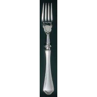 【まとめ買い10個セット品】EBM 洋白 シェルブール(銀メッキ付)フィッシュフォーク H・H sale 【メイチョー】