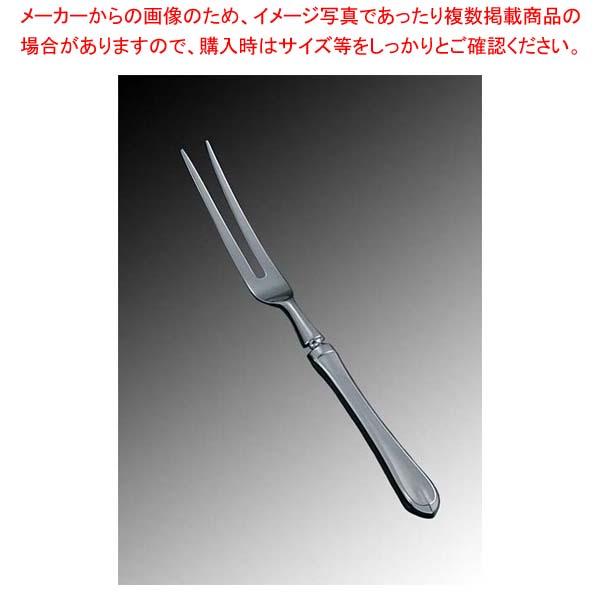 【まとめ買い10個セット品】 EBM 18-8 リモージュ(銀メッキ付)カービングフォーク(H・H) sale 【20P05Dec15】 メイチョー
