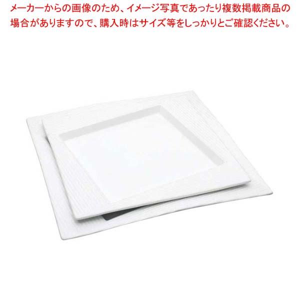 【まとめ買い10個セット品】 アルセラム 白変形皿 EC12-32 メイチョー