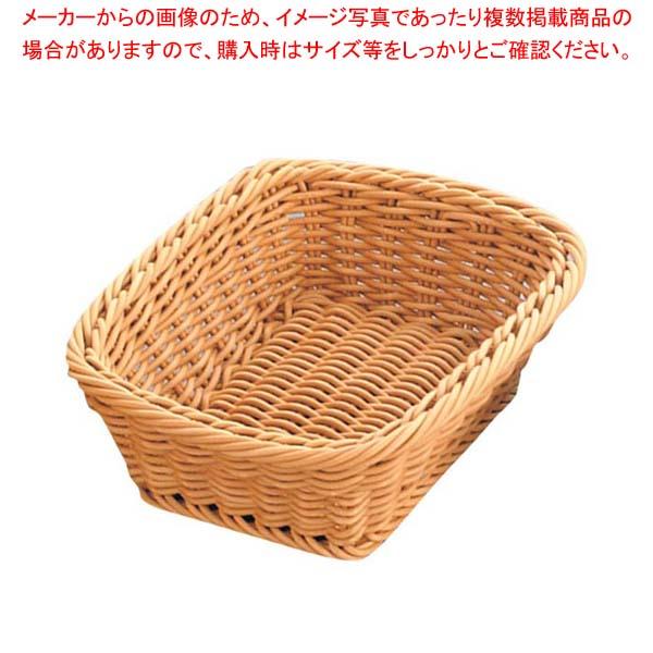 【まとめ買い10個セット品】 ザリーン社 PP製 スクウェアバスケット ベージュ 200041 メイチョー