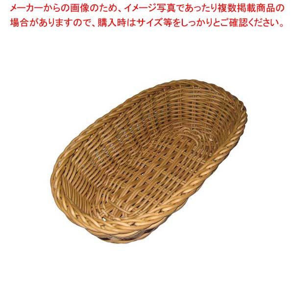 【まとめ買い10個セット品】 ザリーン社 PP製 オーバルバスケットS ベージュ 109041 メイチョー