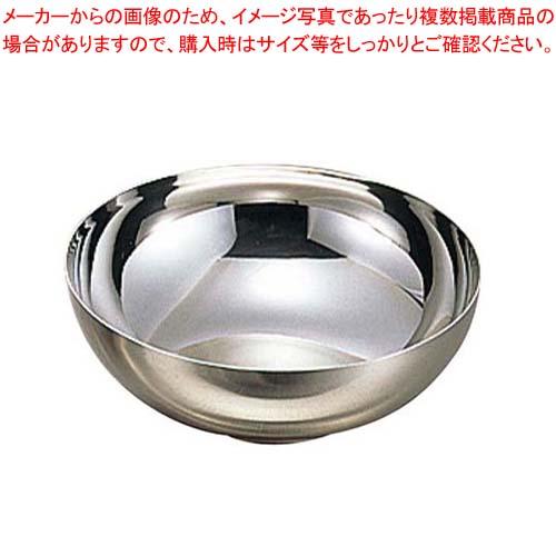【まとめ買い10個セット品】 朝鮮食器 18-8 汁碗 NO.5 φ135×H52 メイチョー