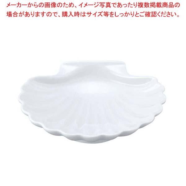 【まとめ買い10個セット品】 シェーンバルド スカロップシェル 9026113(0298-13)白 メイチョー
