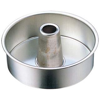 【まとめ買い10個セット品】 FK ブリキ 管付 デコレーション型 共底 21cm メイチョー
