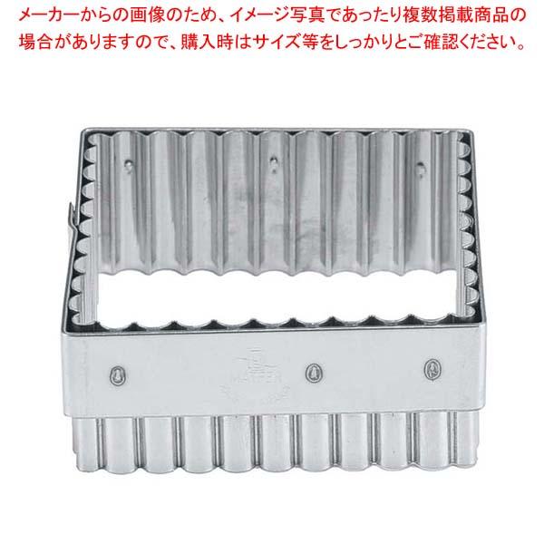 【まとめ買い10個セット品】 マトファー 抜型 角ギザ 79652 メイチョー