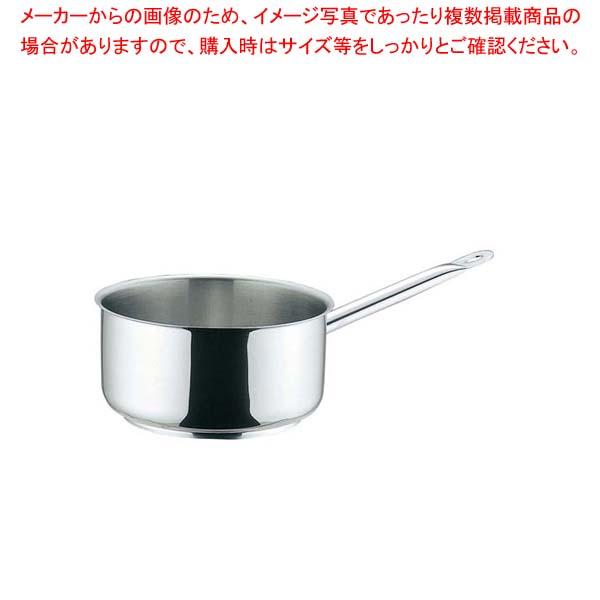 ムヴィエール プロイノックス 片手鍋深型(蓋無)5910-20cm【 IH・ガス兼用鍋 】 【メイチョー】