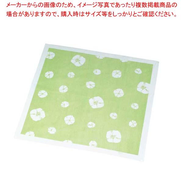 【まとめ買い10個セット品】風呂敷(200枚入)絞柄 グリーン 900×900【 厨房消耗品 】 【メイチョー】