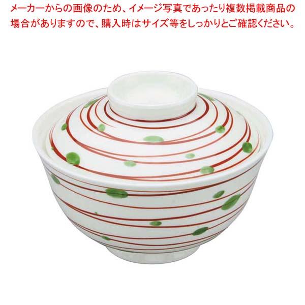 【まとめ買い10個セット品】 アルセラム強化食器 赤渦蓋物 EC3-50 メイチョー