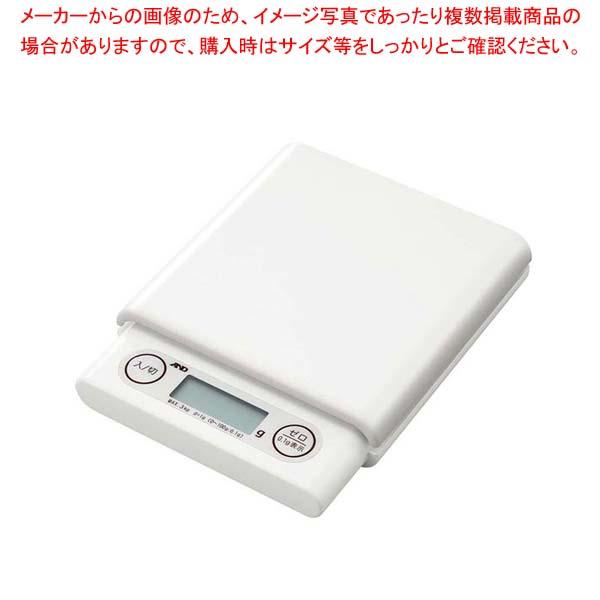 【まとめ買い10個セット品】A&D ホームスケール 3kg UH3201 ホワイト【 ハカリ 】 【メイチョー】