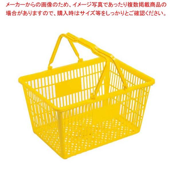 【まとめ買い10個セット品】 買物カゴ MY-24 PE製 メイチョー