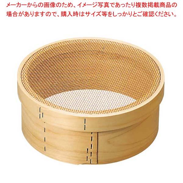 【まとめ買い10個セット品】 木枠 銅張 パン粉フルイ 尺1(33cm)6.5メッシュ メイチョー