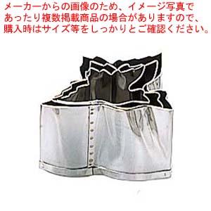 【まとめ買い10個セット品】 EBM 18-8 本職用厚口 抜型 3Pcs 鶴 メイチョー