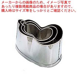 【まとめ買い10個セット品】 EBM 18-8 本職用厚口 抜型 3Pcs ひねり兵丹 メイチョー