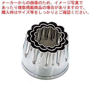 【まとめ買い10個セット品】 EBM 18-8 本職用厚口 抜型 3Pcs 菊 メイチョー