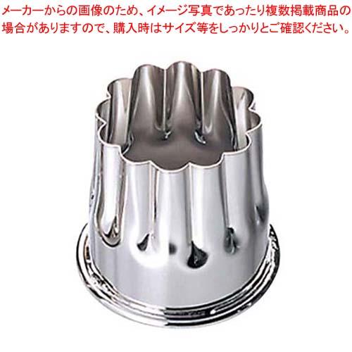 【まとめ買い10個セット品】 EBM 18-8 本職用渕付 抜型 菊 メイチョー