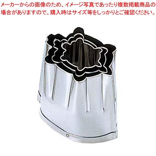 【まとめ買い10個セット品】 EBM 18-8 手造抜型 Aセット 亀 3Pcs(#1~#3) メイチョー