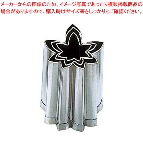 【まとめ買い10個セット品】 EBM 18-8 手造抜型 Bセット 紅葉 3Pcs(#1~#3) メイチョー