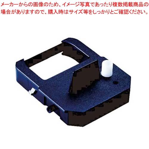 【まとめ買い10個セット品】 セイコー インクリボンカセット TP-1051SB 黒単色 メイチョー
