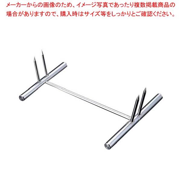 【まとめ買い10個セット品】 EBM 18-8 二本刃 魚剣山 メイチョー