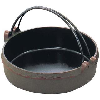 【まとめ買い10個セット品】 ひこばえ IK メイチョー すきやき鍋 鉄 22cm
