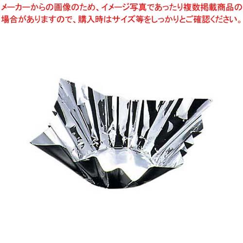 【まとめ買い10個セット品】 アルミ箔鍋 銀(200枚入)8号(80047) メイチョー