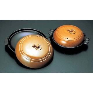 【まとめ買い10個セット品】 アルミ 陶板焼 みやび 特深(深さ35) メイチョー