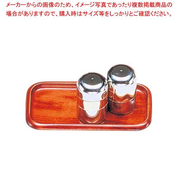 【まとめ買い10個セット品】木製 カスタートレー(さくら ウレタン塗装)SB-606 中【 卓上小物 】 【メイチョー】