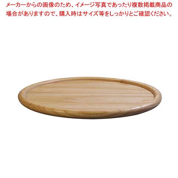 【まとめ買い10個セット品】ホワイトアッシュ ラウンドトレー(ナチュラルカラー)130036 33cm【 和・洋・中 食器 】 【メイチョー】
