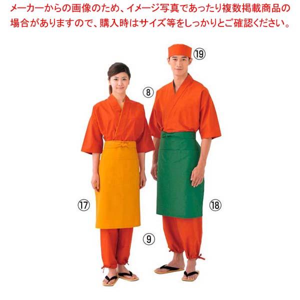 【まとめ買い10個セット品】 和帽子 JW4628-3 橙 M メイチョー