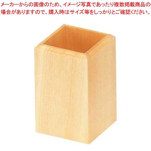 【まとめ買い10個セット品】 白木 はし立て W-601 メイチョー