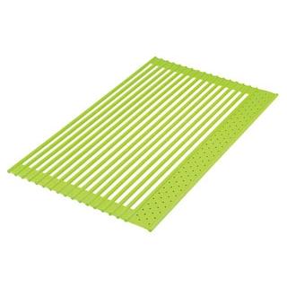 【まとめ買い10個セット品】 くるくるシリコン水切り Sサイズ グリーン メイチョー