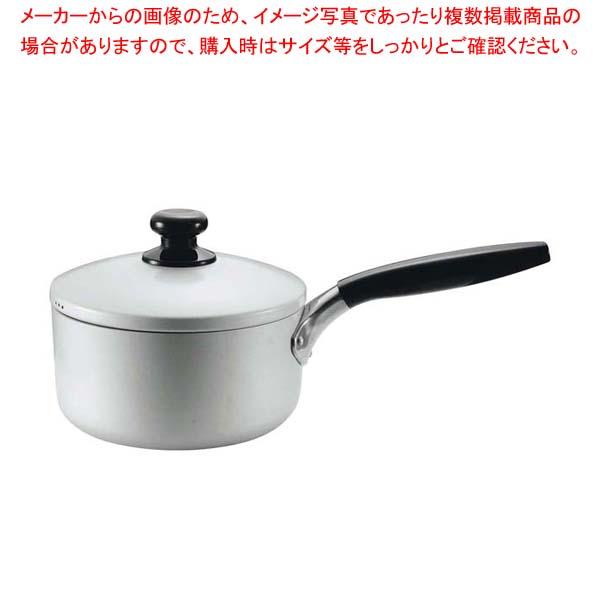 【まとめ買い10個セット品】 ロイヤル アルマイト 片手鍋 18cm メイチョー