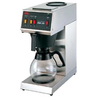 カリタ コーヒーマシン KW-25 sale【 メーカー直送/後払い決済不可 】 メイチョー