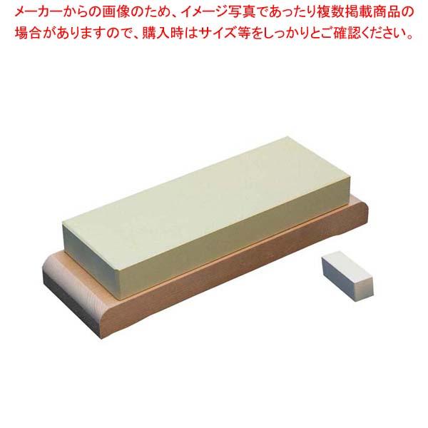 【まとめ買い10個セット品】 堺菊守 仕上石(#8000)台付 極(KIWAMI) メイチョー