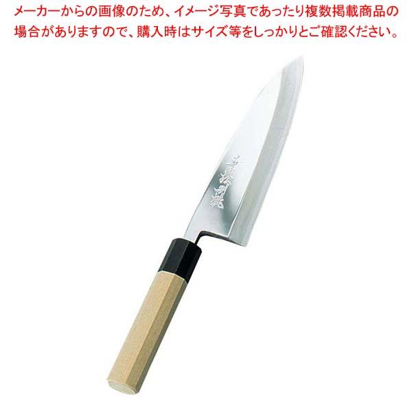 兼松作 鏡面仕上 出刃庖丁 21cm sale 【20P05Dec15】 メイチョー