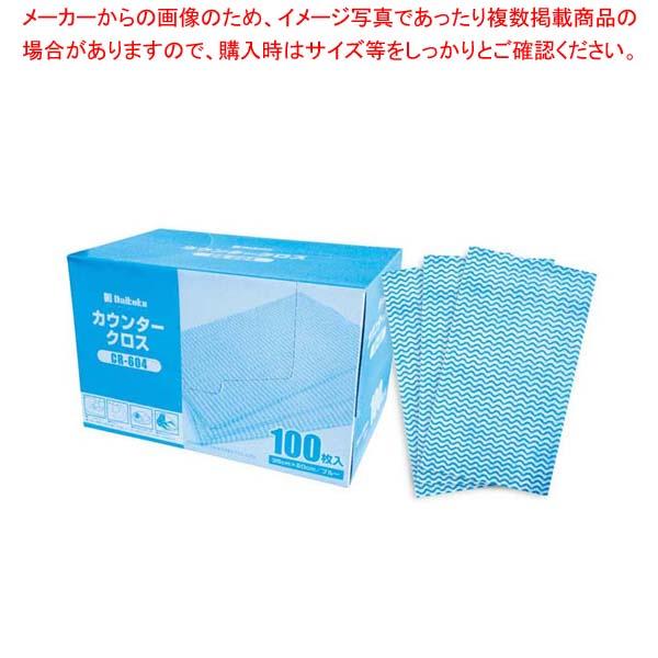 【まとめ買い10個セット品】 DK カウンタークロス(100枚入)ブルー CR-604 メイチョー