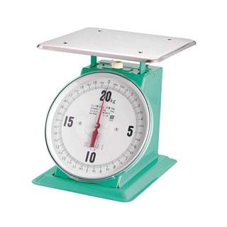 【まとめ買い10個セット品】フジ 上皿自動ハカリ デカ O型 20kg【 ハカリ 】 【メイチョー】