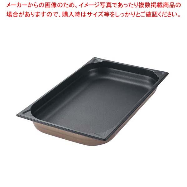 【まとめ買い10個セット品】 プロシェフ 18-8 ノンスティックGNパン 1/4 65mm メイチョー