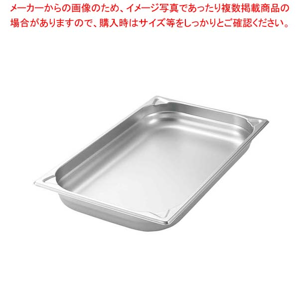 【まとめ買い10個セット品】 プロシェフ 18-8 GNパン補強重なり防止付 1/6 150mm メイチョー