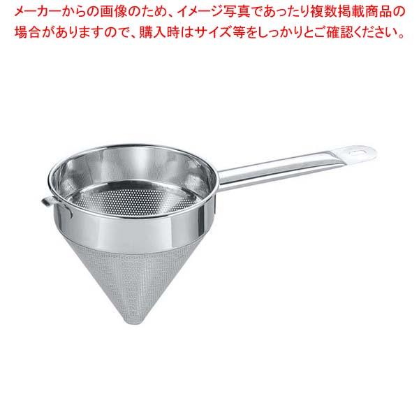 【まとめ買い10個セット品】 EBM ステンレス スープ漉 18cm メイチョー