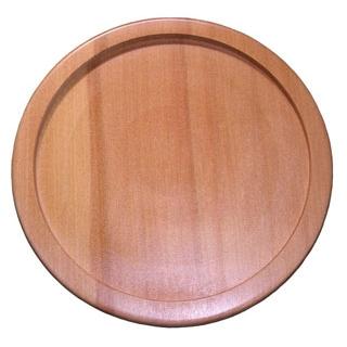 【まとめ買い10個セット品】 ステーキ&ピザプレート用木台(アルミ枠付用)29cm メイチョー