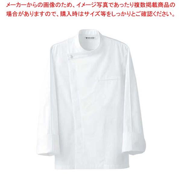 【まとめ買い10個セット品】 ドレスコックコート(男女兼用)BA1044-0 ホワイト L メイチョー