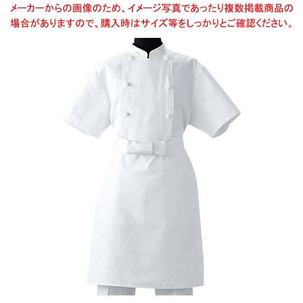 【まとめ買い10個セット品】 調理前掛 TT8900-0 ホワイト L メイチョー