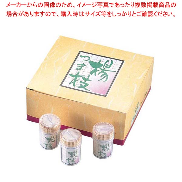 【まとめ買い10個セット品】 容器入 妻楊枝 30号(30パック入) メイチョー