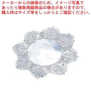 【まとめ買い10個セット品】 ドイリー レースペーパー 丸型 銀(500枚入)15号 sale 【20P05Dec15】 メイチョー