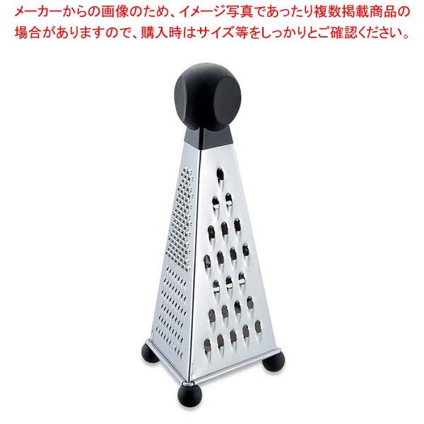 【まとめ買い10個セット品】GS 3面チーズグレーター(087-0725)【 オロシ金・チーズ卸 】 【メイチョー】