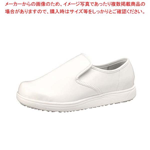 【まとめ買い10個セット品】 アキレス スニーカー クッキングメイト003 白 30cm メイチョー