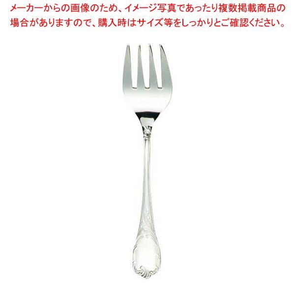 【まとめ買い10個セット品】 EBM 18-8 ブローニュ サービスフォーク sale メイチョー
