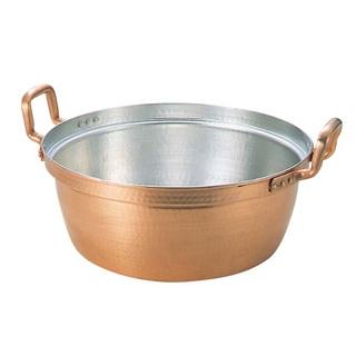 【まとめ買い10個セット品】 EBM 銅 段付鍋 錫引きあり 36cm sale 【20P05Dec15】 メイチョー